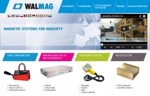 Walmag magyar weboldal előkép